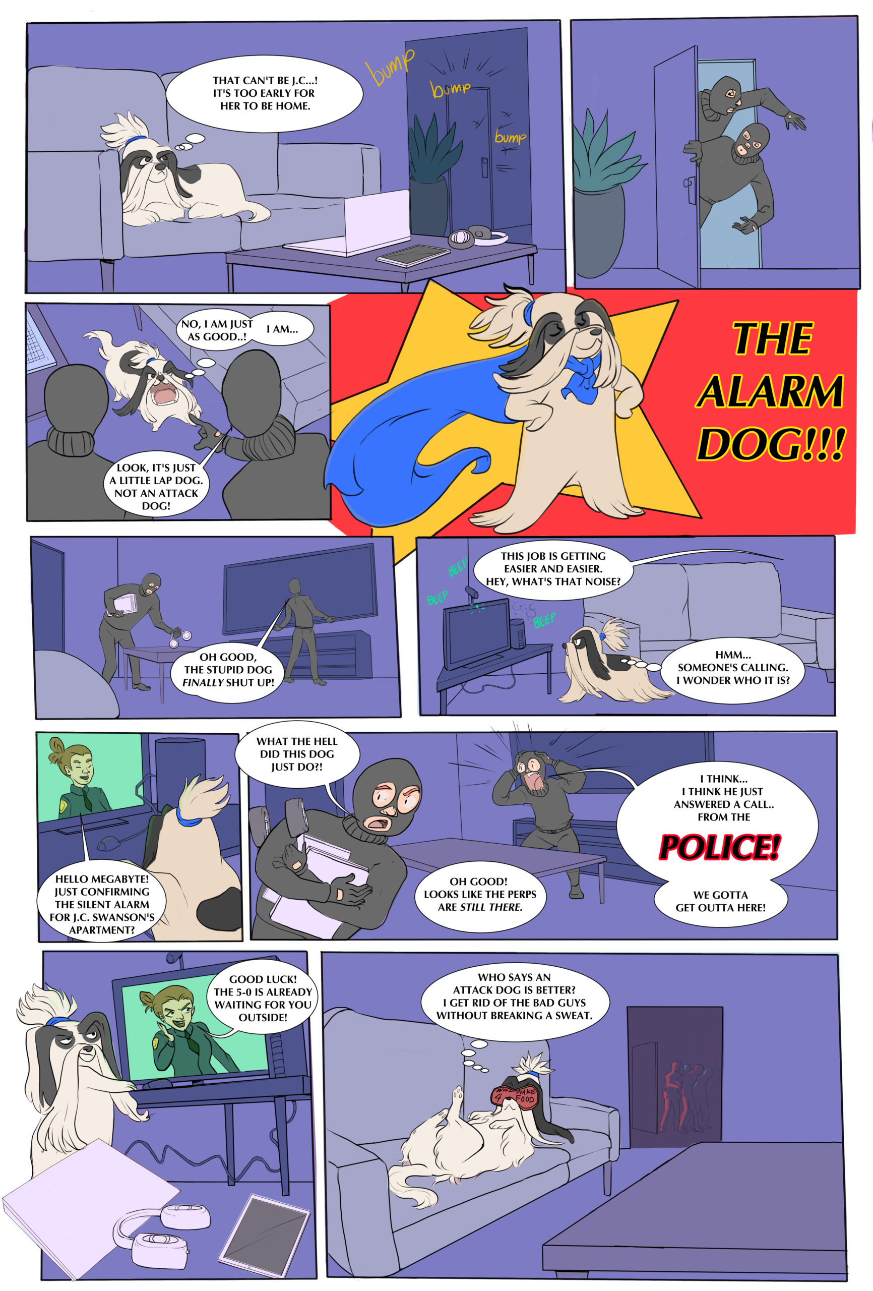 Alarm Dog comic